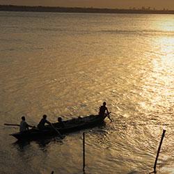 Boating in Assam in Guwahati