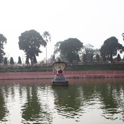 Bodhi Sarovar in Bodhgaya