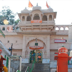The Brahma Temple in Pushkar