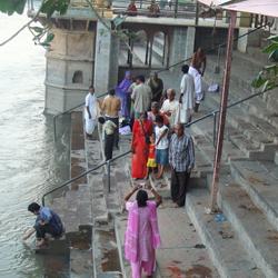 Brahmand Ghat in Mathura