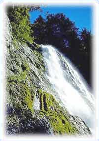 Bridal Veil Falls in Mpumalanga