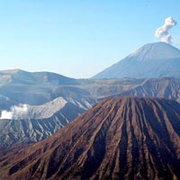 Bromo-Tengger National Park in Java