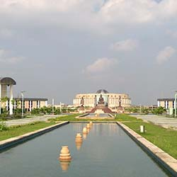 Buddha Park in Kanpur