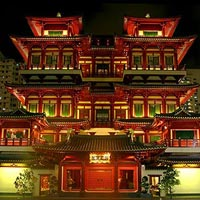 Buddha Tooth Relic Temple in Chinatown
