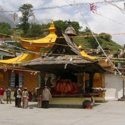 Buddhist Monastery in Sangla