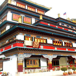 Buddhist Monastery in Darjeeling