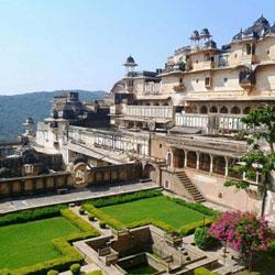 Bundi Palace in Bundi