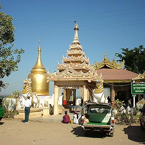 Bupaya Pagoda in Bagan
