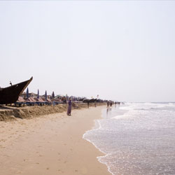 Calangute Beach in Goa City