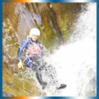 Canyoning in Wales in Wales