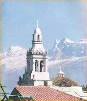 Cerro Tunari in Cochabamba