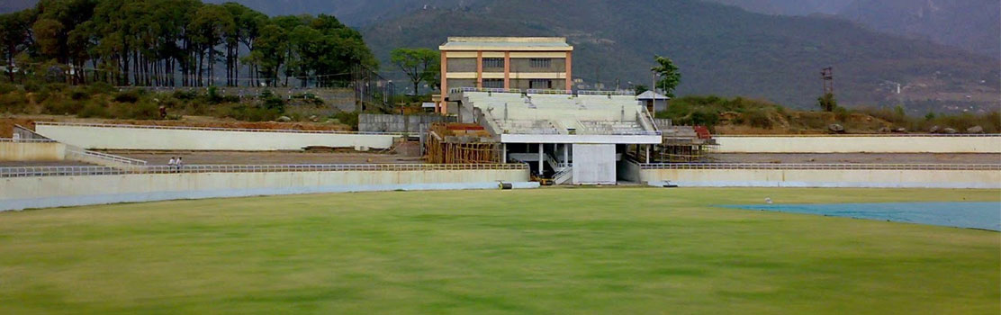Chail Cricket Ground in Chail