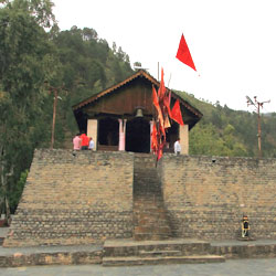 Chamunda Devi Temple in Chamba