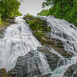 Charpa Falls in Thrissur