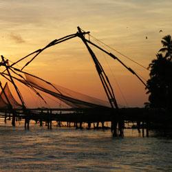 Chinese Fishing Nets in Ernakulam