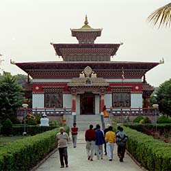 Chinese Temple in Bodhgaya