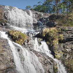 Chinnakanal Waterfalls in Munnar