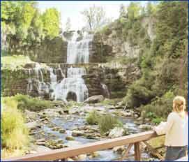 Chittenango Falls State Park in Oneida