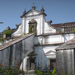 Church and Convent of St. Monica in Goa City