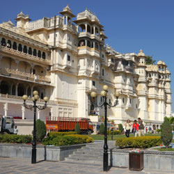 City Palace Udaipur in Udaipur