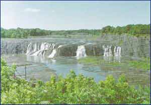 Cohoes Falls in New York