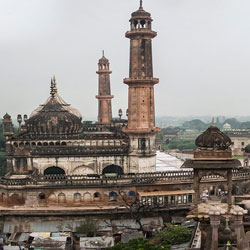 Colonial Monuments in Lucknow