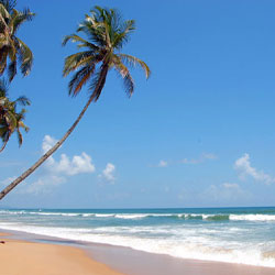 Colva Beach in Goa City