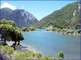 Conguillio National Park in Araucania