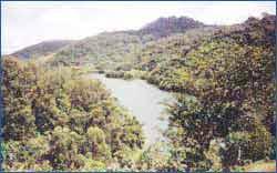 Cordillera Central in San Juan