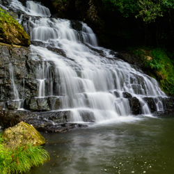 Crinoline WaterFalls in Shillong