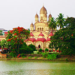 Dakshineswar Temple in Kolkata