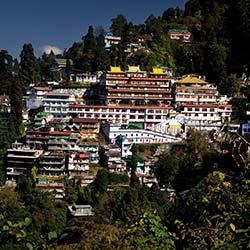Dali Monastery in Darjeeling