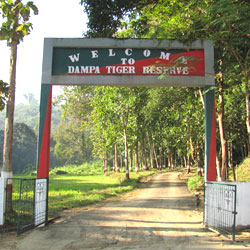 Dampa Wildlife Sanctuary in Aizawl