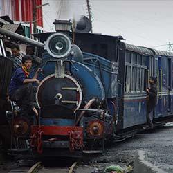 Darjeeling Himalayan Railway in Darjeeling