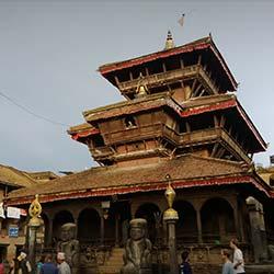 Dattatreya Temple in Ganganapur