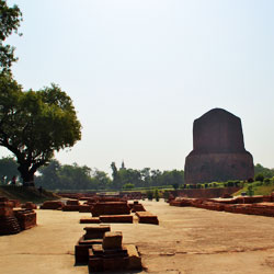 Deer Park or Isipatana Sarnath in Varanasi