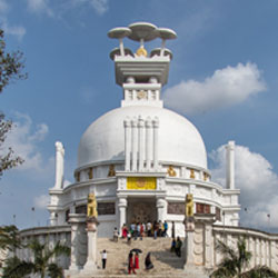 Dhauli Hill in Bhubaneswar