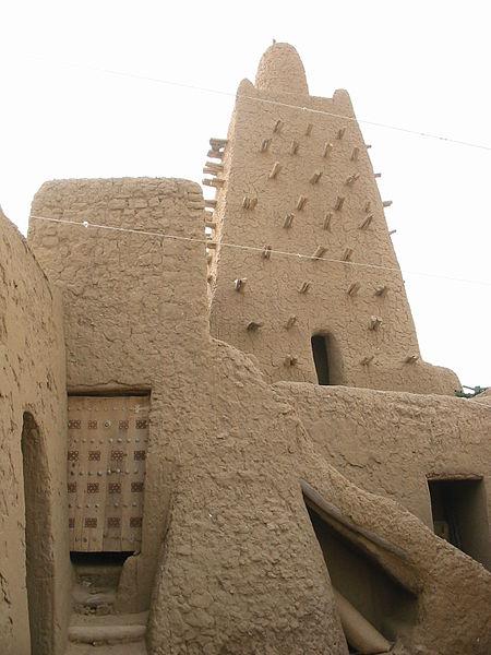 Djinguereber Mosque in Timbuktu
