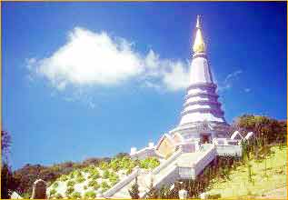 Doi Inthanon Mountain in Chiang Mai