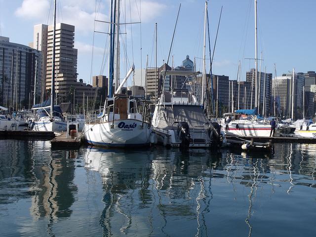 Durban Yacht Mole in Durban