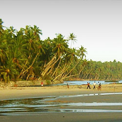 Edava Beach in Varkala