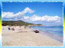 Es Cavallet Beach in Ibiza