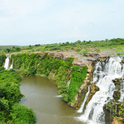 Ethipothala Waterfalls in Guntur