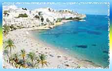 Figueretas Beach in Ibiza