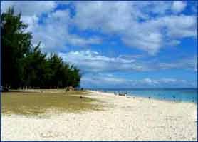 Flic en Flac Beach in Riviere Noire