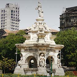 Flora Fountain in Mumbai