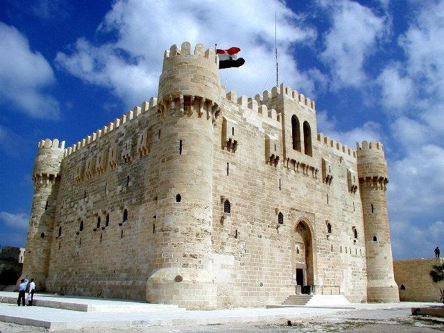 Fort Qaitbay in Alexandria