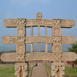 Four Gate Ways Of Sanchi in Sanchi
