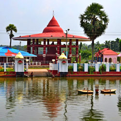 Fourteen Goddess Temple in Agartala
