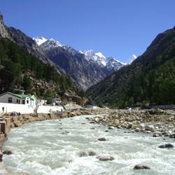 Ganga  River in Gangotri